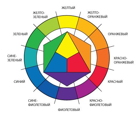 Учет цветовой гаммы клумбы при