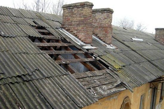 старая кровля - как починить крышу